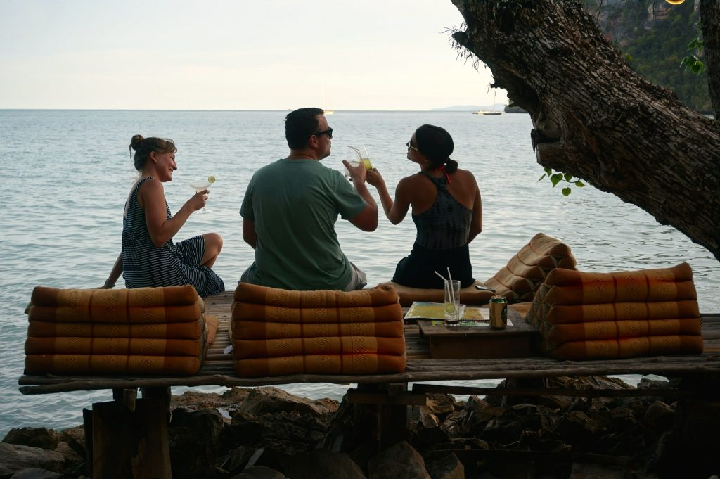 cocktails at Tew Lay Bar in Railay