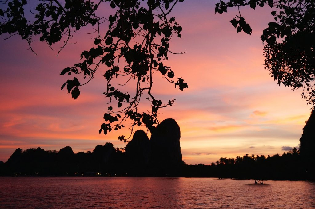 Sunset from Railay East