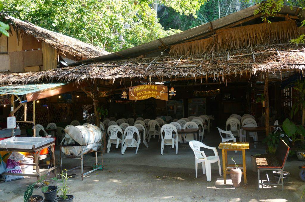 Mangrove restaurant in Raialy