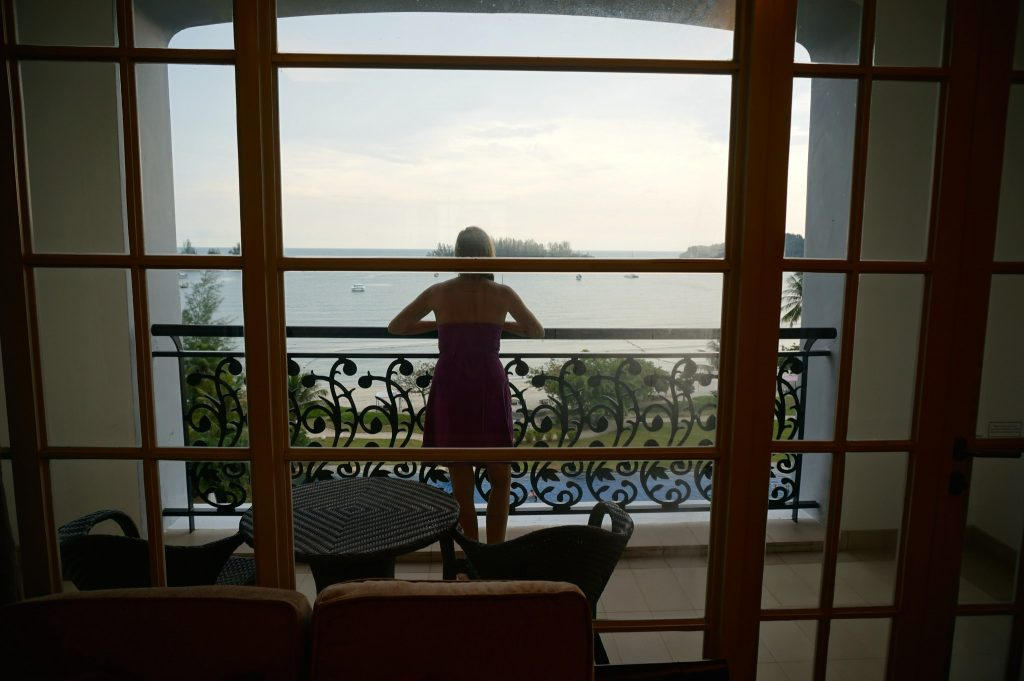 Balcony of Viceroy room at The Danna Langkawi Malaysia