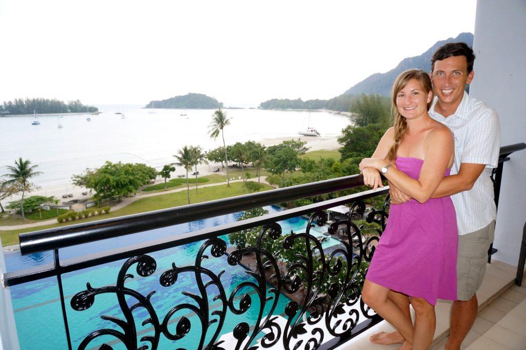 Danna Langkawi room balcony