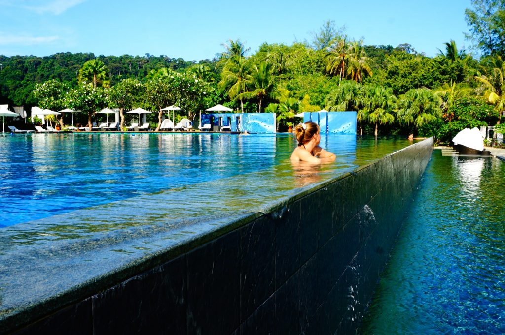 Edge of The Danna Langkawi 3-tiered infinity pool