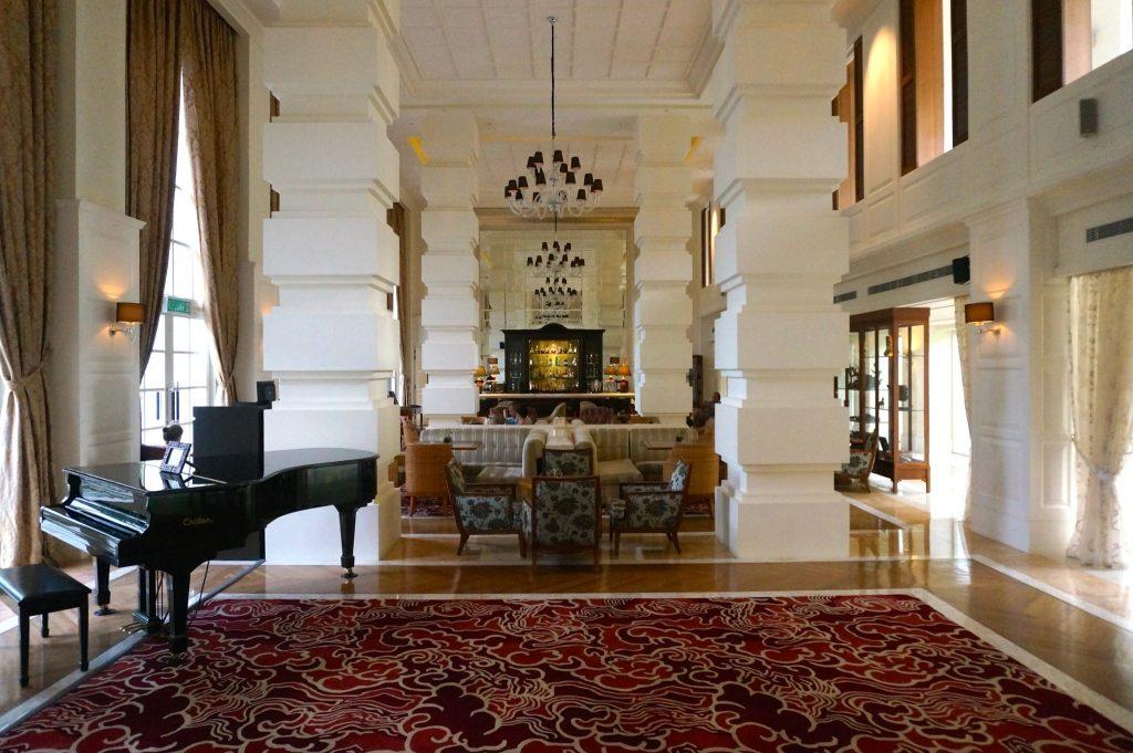 Verandah bar at the Danna Langkawi luxury resort in Malaysia