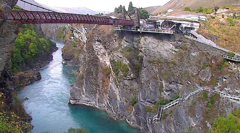 AJ Hackett Kawarau Bridge and Kawarau River Gorge