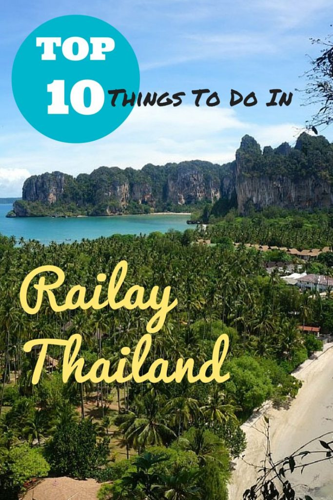 Top 10 Things to Do in Railay Beacah Thailand heading