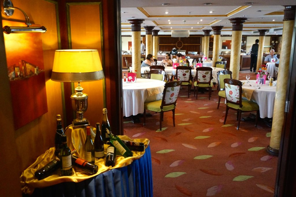 M/S Amarco II Nile Cruise main dining room