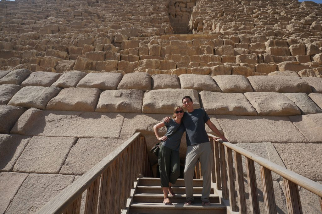 Going inside Great Pyramids