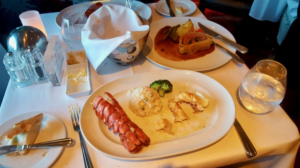 Cruise hack: order two main courses