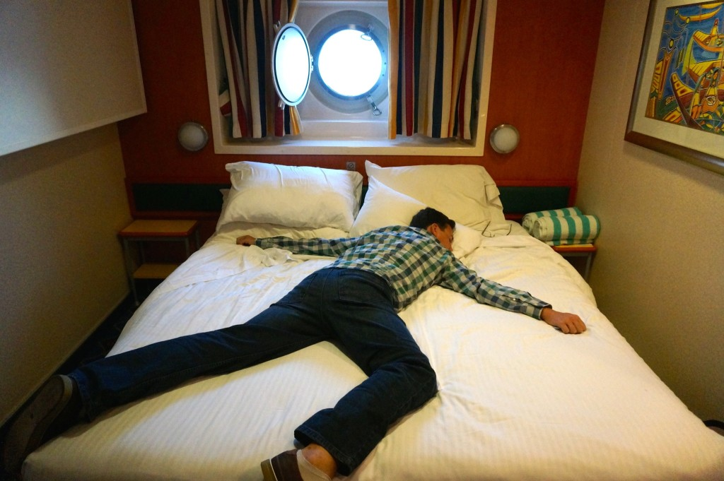 Our guaranteed outside stateroom on the Norwegian Star came with a port hole