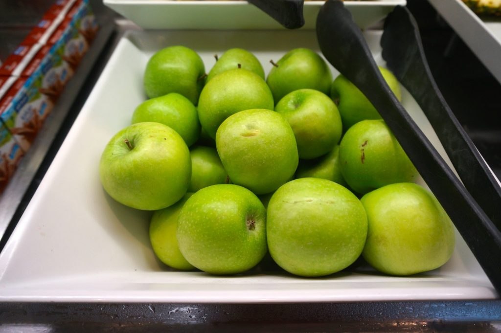 Green apples can be a natural seasickness remedy you can find aboard cruise ships