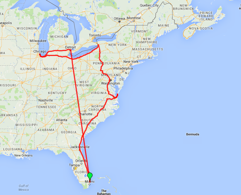 Month 24 tentative route map