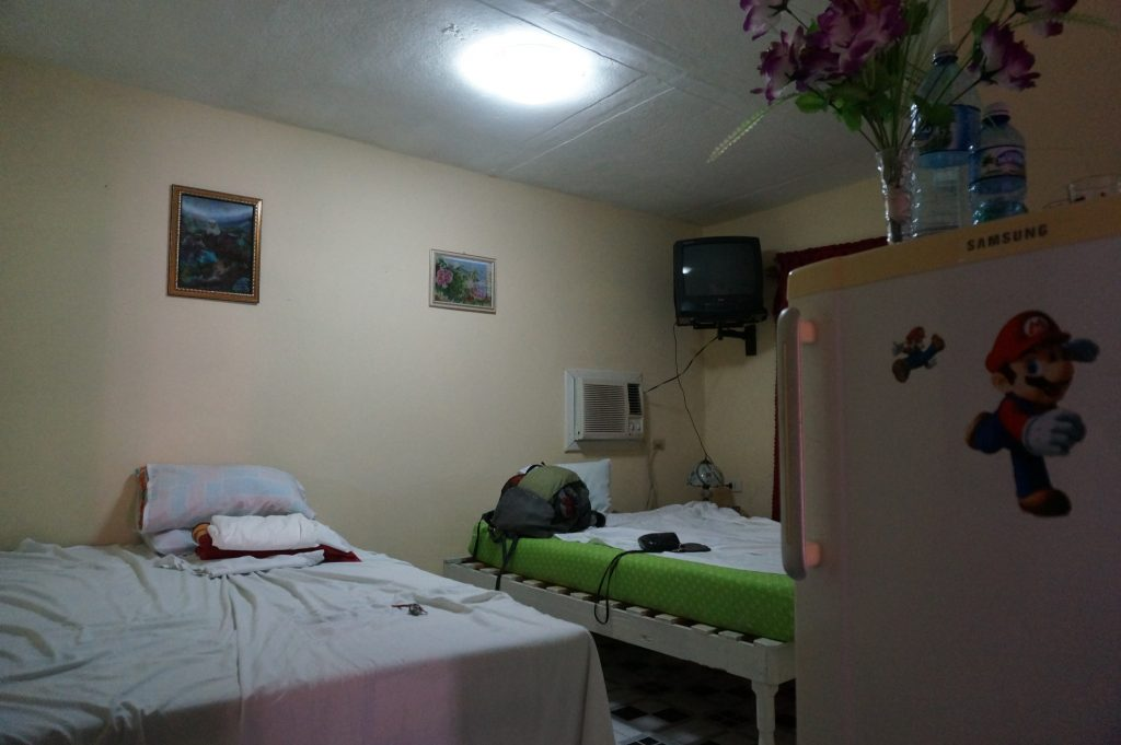 inside the room of a casa particular in Viñales Cuba