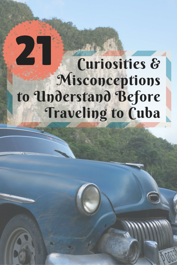 Curiosities of Travel in Cuba