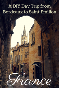 The medieval village and UNESCO World Heritage Site of Saint Emilion is a perfect full day trip from Bordeaux, France. The following guide provides details on how to tour St Emilion from Bordeaux on a budget!