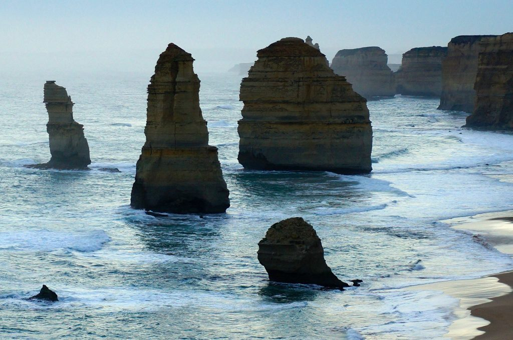 12 apostles great ocean road australia at sunset
