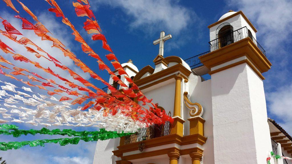 Guadalupe Church in San Cristobal de las Casas, Mexico