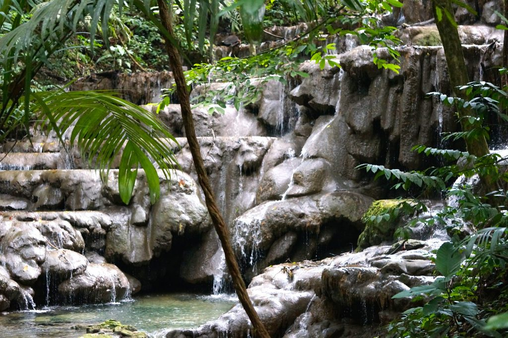 Palenque cascades