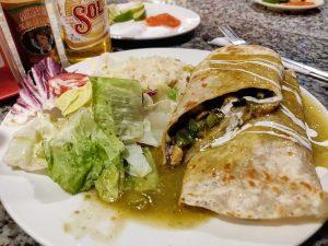 Burrito at Las Vigas