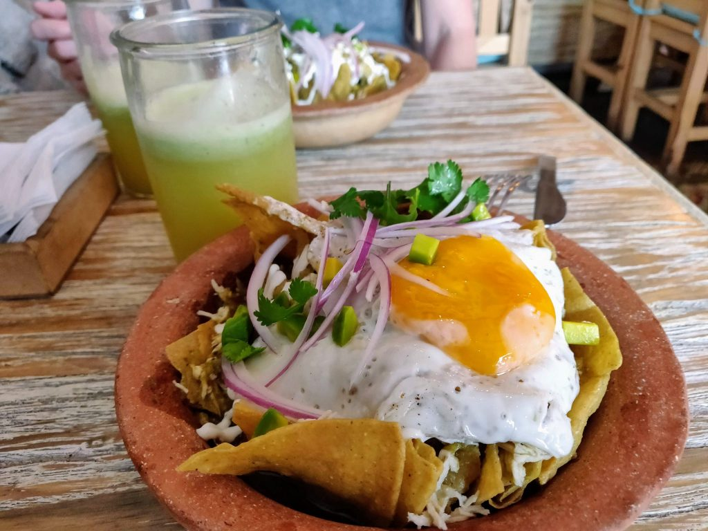 Chilaquiles at Chilakillers