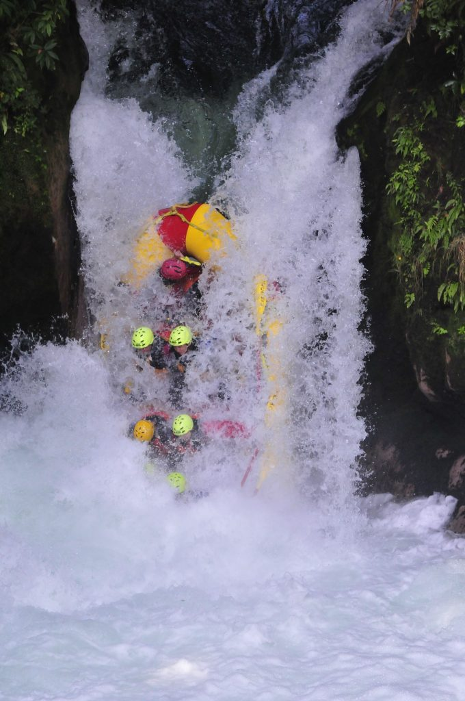whitewater rafting Okere River (Kaituna), near Rotarua, New Zealand