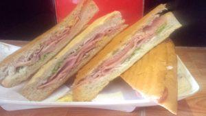 Cuban sandwich in Havana Cuba
