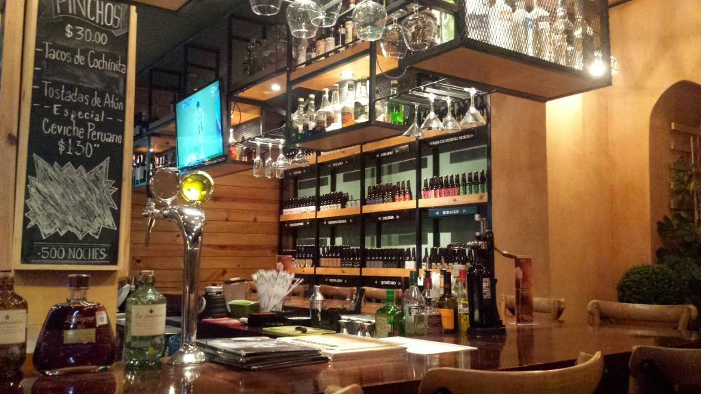 500 Noche is a great recommendation in San Cristobal de las Casas to try cerveza artesanal (craft beer)