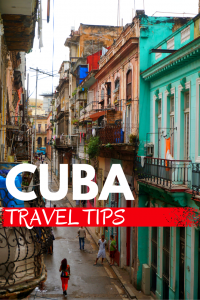 Cuba Travel Tips pin