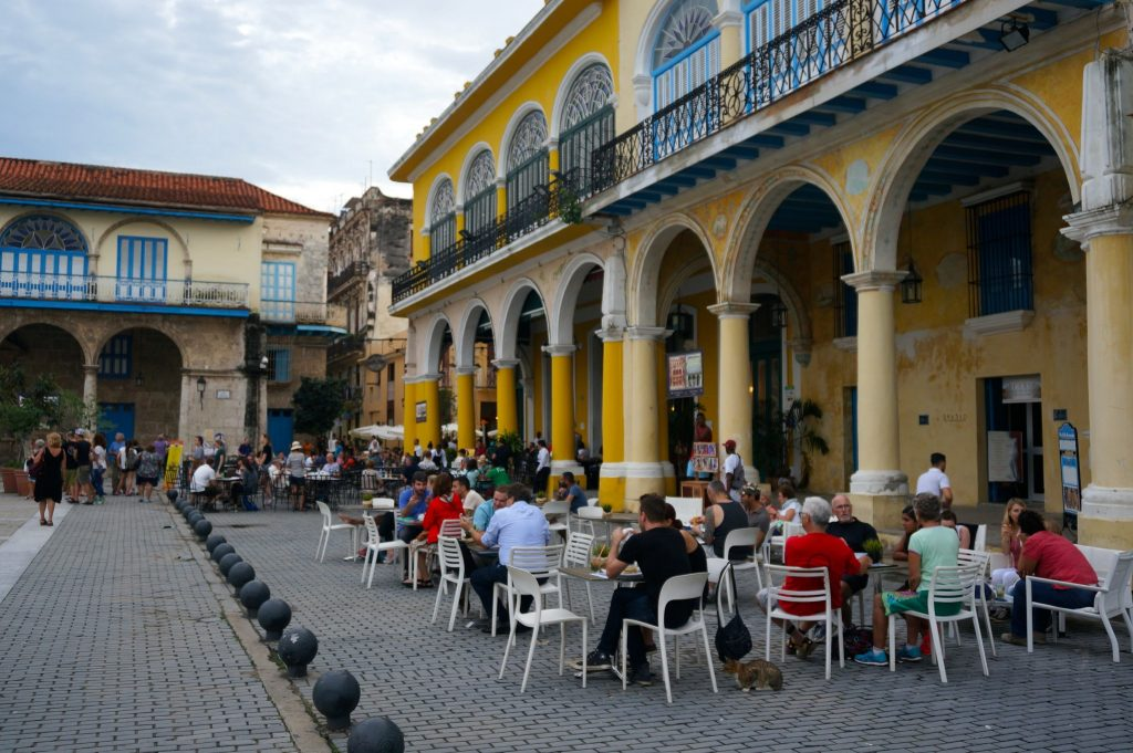 a popular cafe restaurant in Havana Cuba
