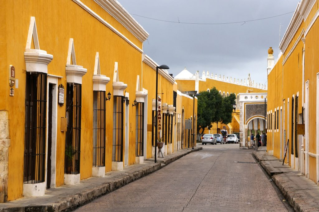 Izamal the yellow city in the Yucatan