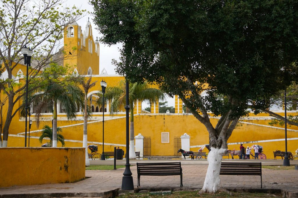 Izamal is known as the Yellow City