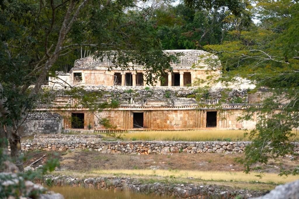 Labna mayan ruins on Ruta Puuc Yucatan Mexico