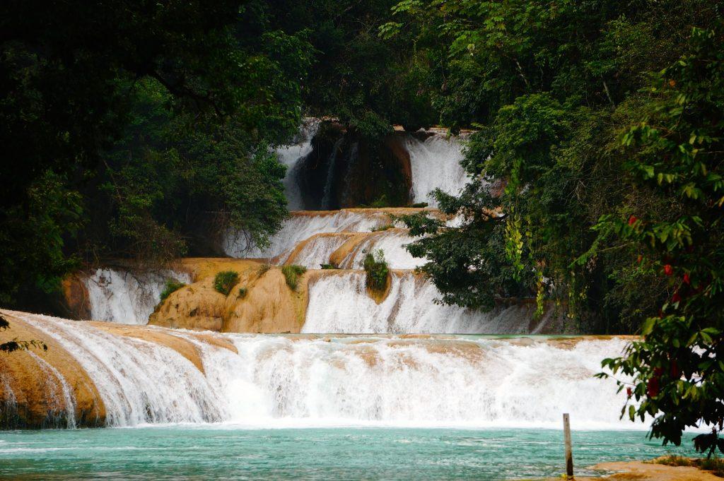 Agua Azul Waterfalls Chiapas Mexico