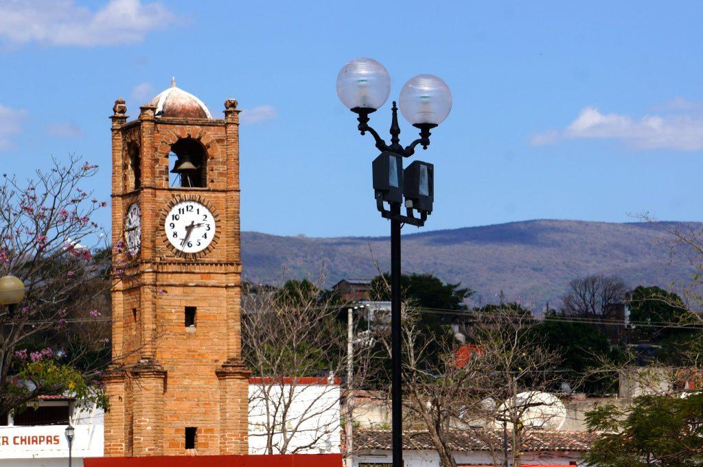 Chiapa de Corzo clocktower