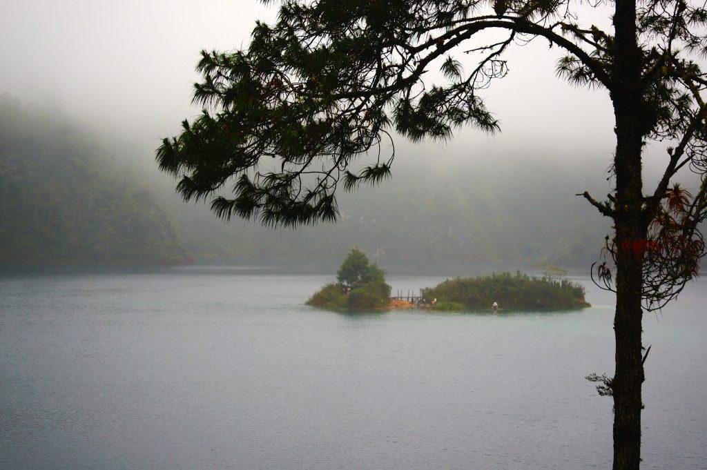 Lagunas (Lagos) de Montebello National Park is a popular day trip from San Cristobal de las Casas Mexico