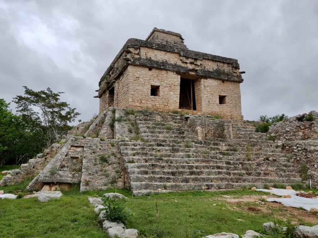 Dzibilchaltun Ruins near Merida Mexico in the Yucatan