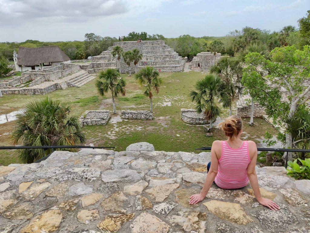 Xcambo ruins near Merida