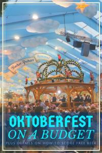 Oktoberfest on a budget