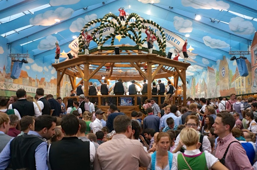 Hacker beer hall in Munich has the least expensive liters of beer (10.10) allowing you to do Oktoberfest on a budget