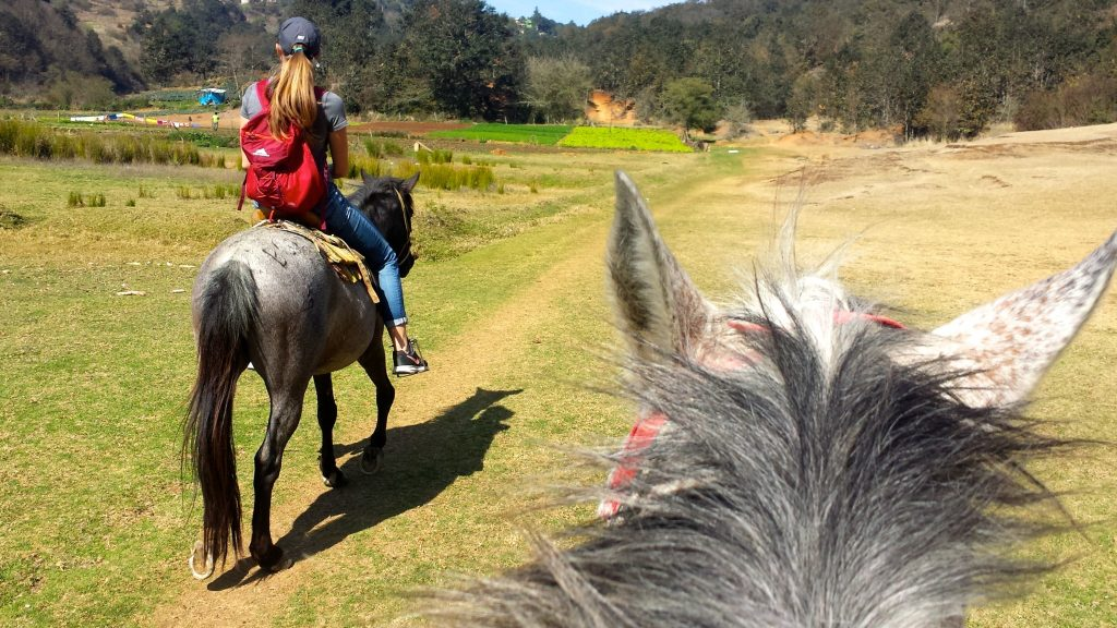 Horseback riding is one of the best things to do in San Cristobal de las Casas Mexico
