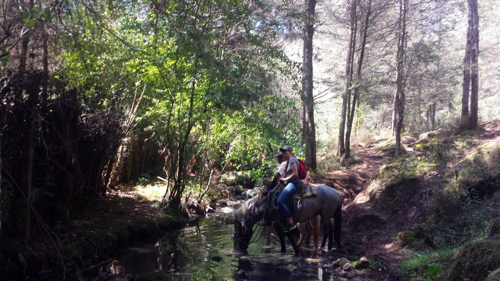 Trail ride from San Cristobal de las Casas to San Juan Chamula