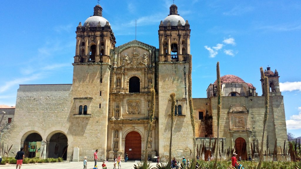 The Templo de Santo Domingo Oaxaca is among many grand churches and cathedrals which are must-see sights in Oaxaca Mexico