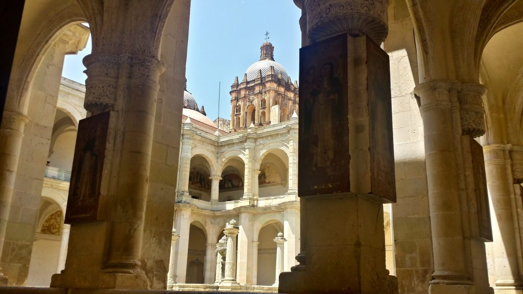 Walking through the Oaxaca Cultural Museum halls is one of the best things to do in Oaxaca