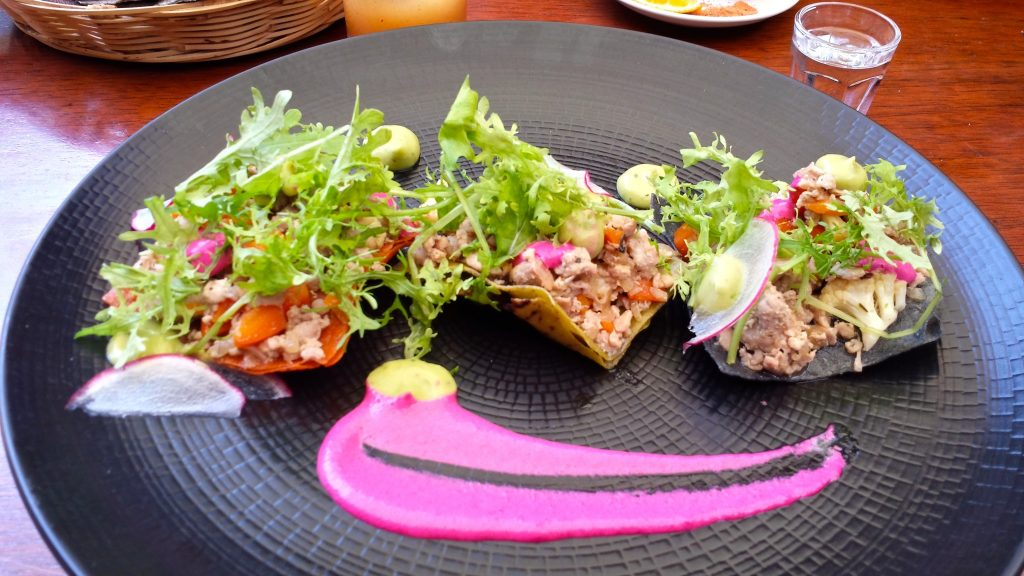 Oaxaca is a culinary hub of Mexico where you can find beautiful dishes like this