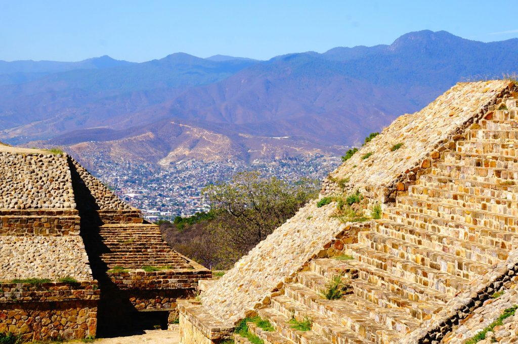 The Monte Alban pyramids in Oaxaca are an amazing UNESCO site that must be toured while visiting the area