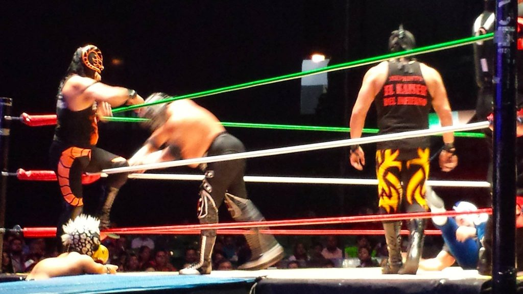 Lucha Libre masked wrestling in Oaxaca is one of the most fun things to do in Oaxaca if you can find a ticket