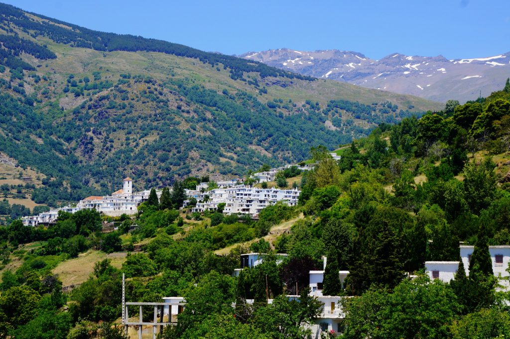 white villages of the Alpujarras spain