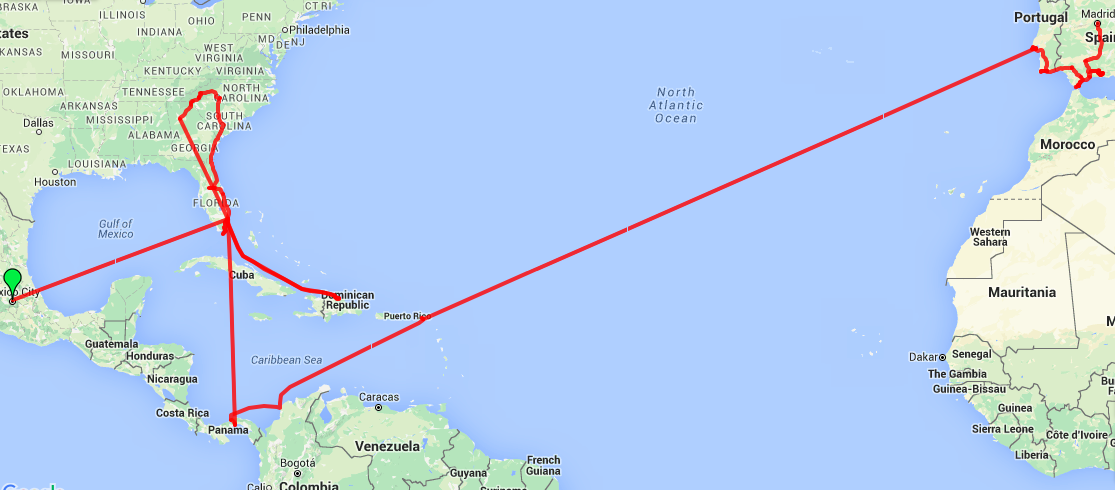 A Long Overdue Travel Update AprilJune Roaming Around The - Map of us and dominican republic