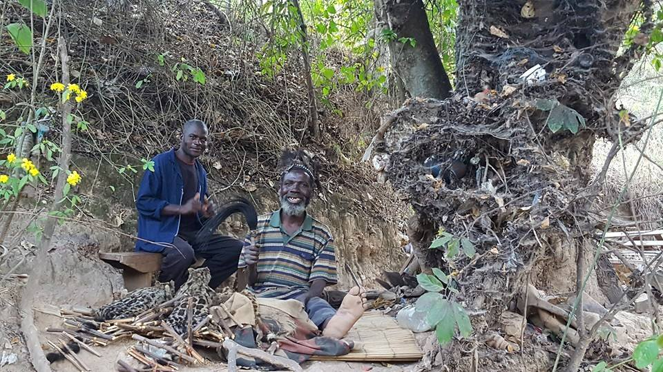 African Witch Doctor in Zimbabwe
