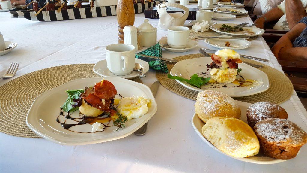 Breakfast on Livingstone Island Tour Victoria Falls