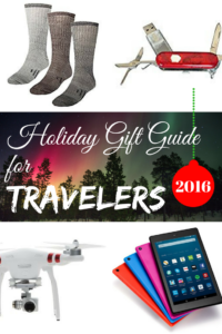 Travel gift guide and gift ideas for travelers 2016